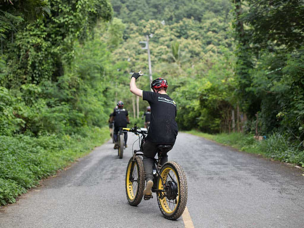 let's go   Buzzy Bee Bike, Chiang Mai, Thailand