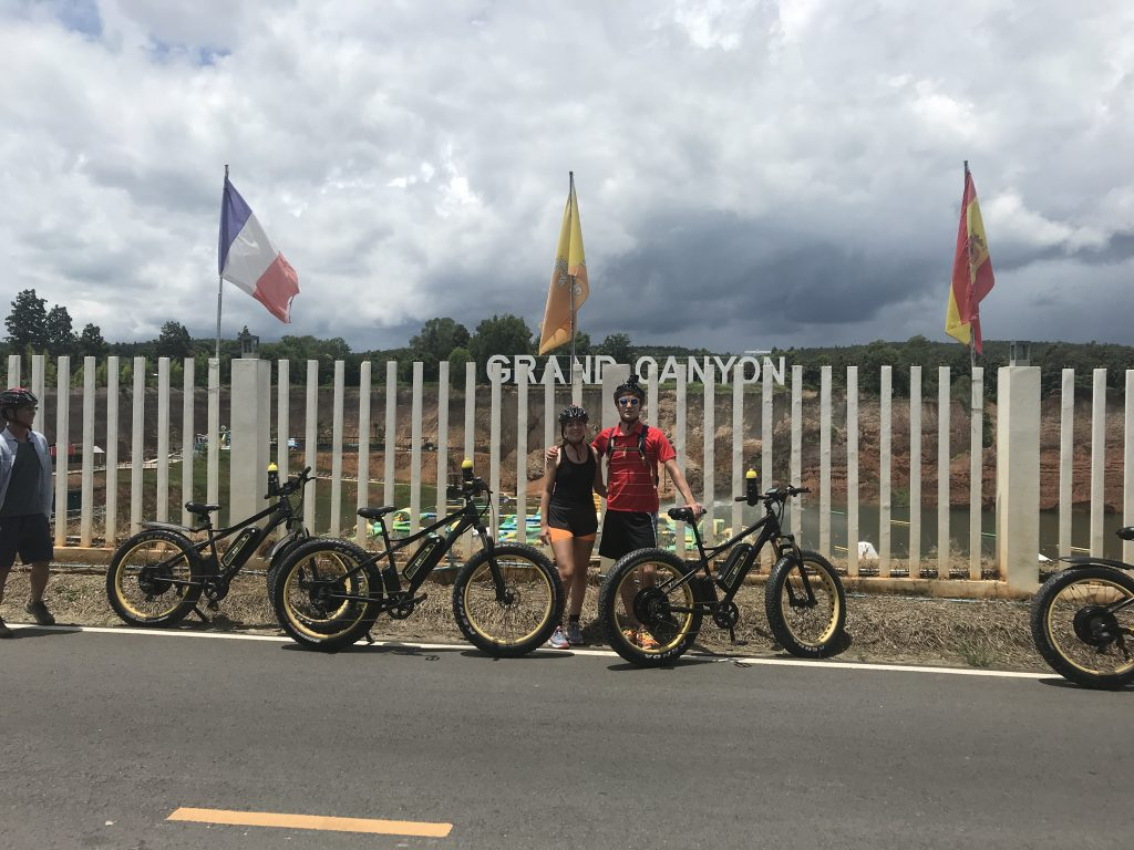 stop at Grand Canyon | Buzzy Bee Bike, Chiang Mai, Thailand