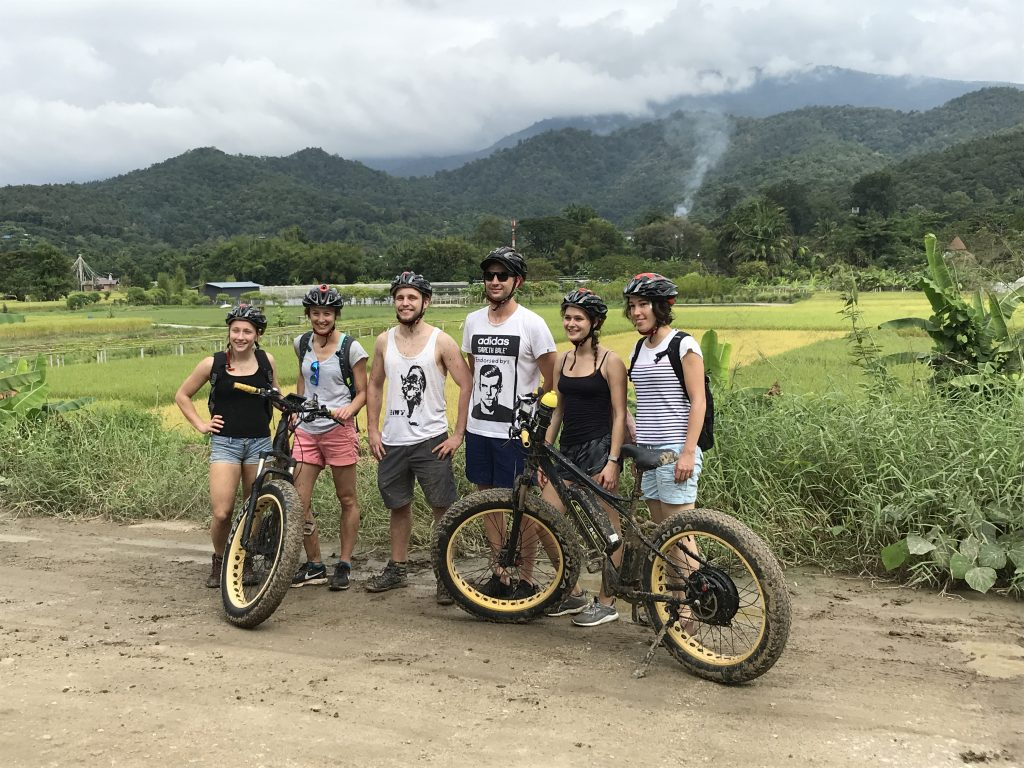 stop at Ban Pong | Buzzy Bee Bike, Chiang Mai, Thailand