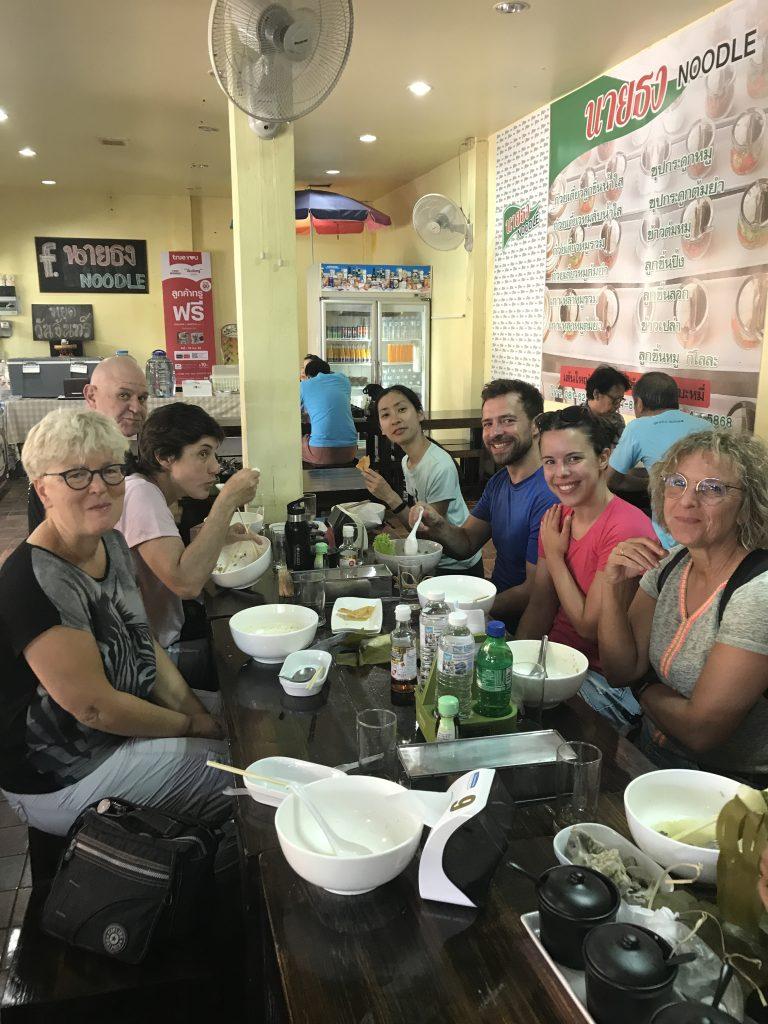 lunch stop in Lamphun | Buzzy Bee Bike, Chiang Mai, Thailand