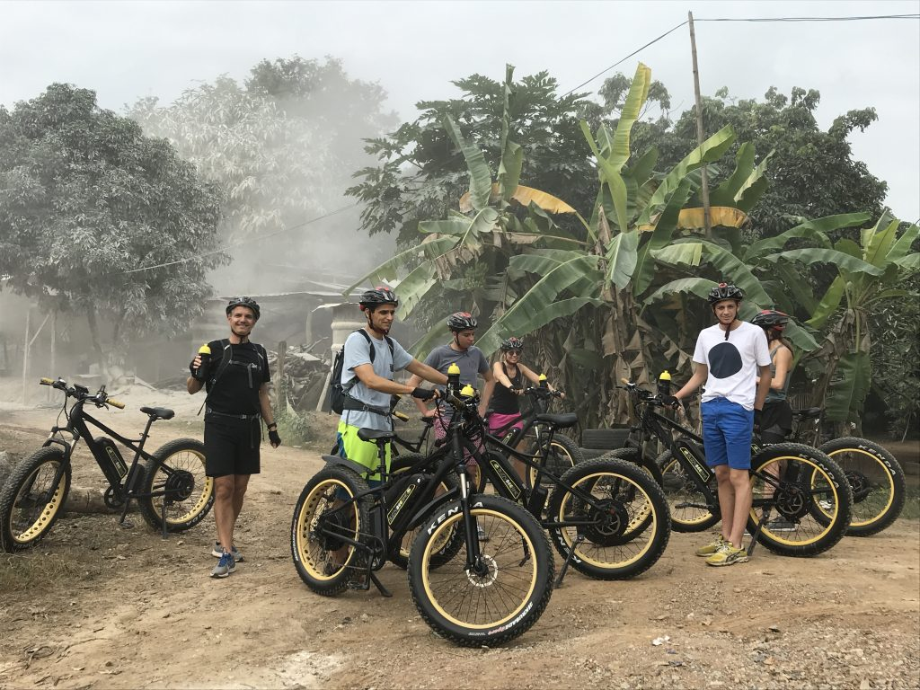 stop at plaster production   Buzzy Bee Bike, Chiang Mai, Thailand