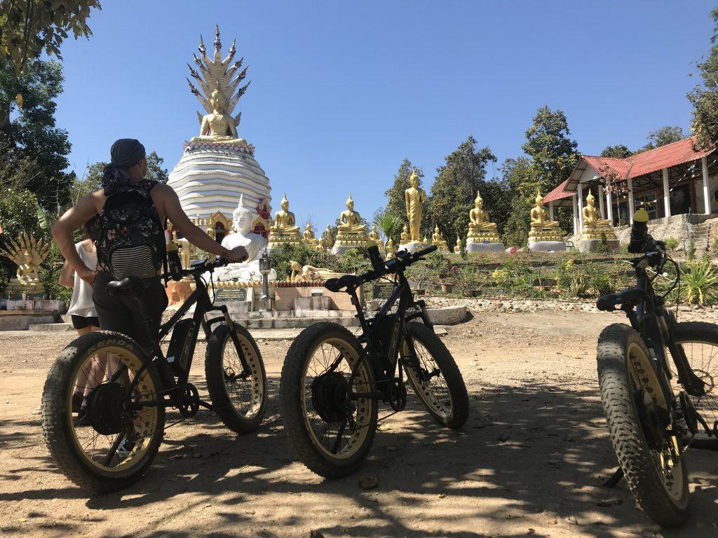 visiting Wat Doi Tham | Buzzy Bee Bike, Chiang Mai, Thailand