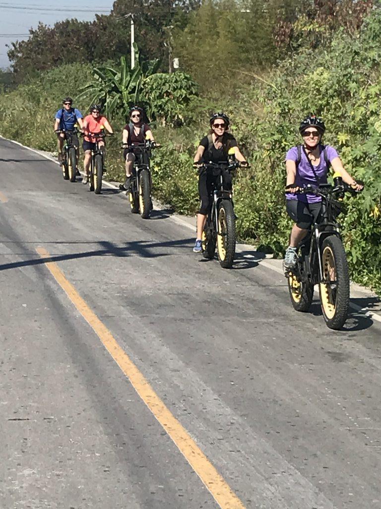 Canadian family on the run | Buzzy Bee Bike, Chiang Mai, Thailand