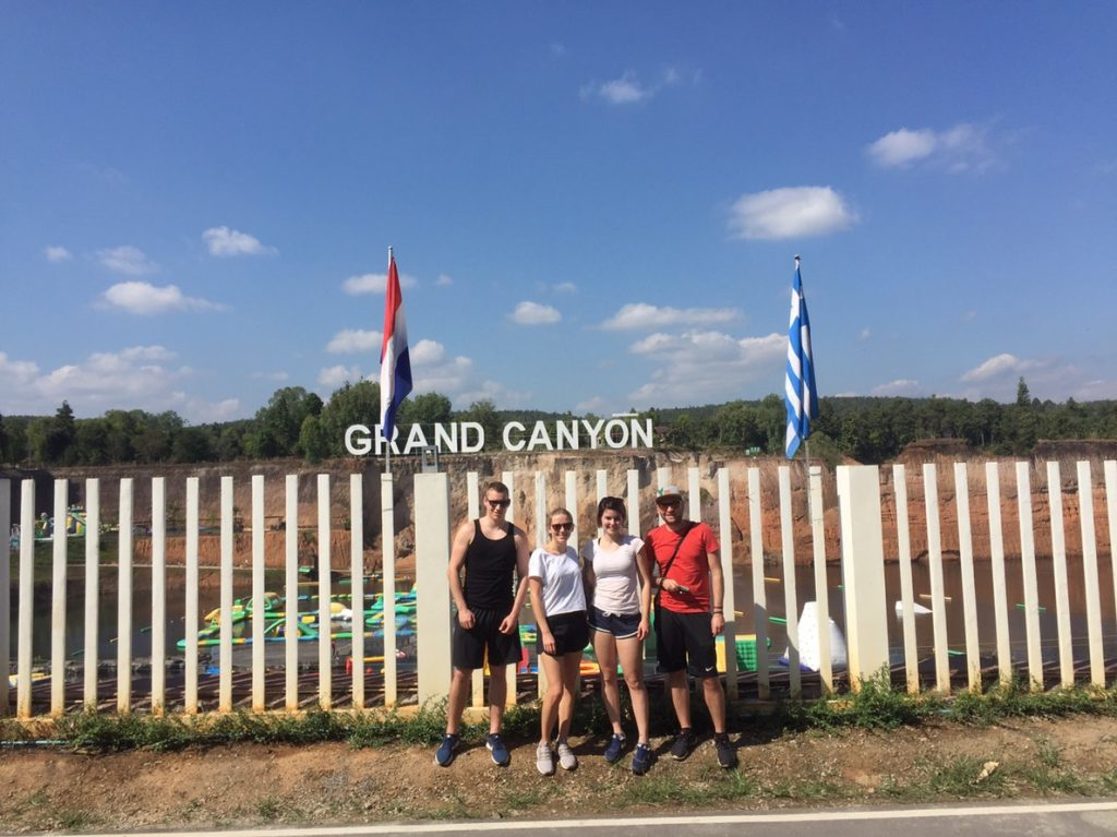 stop at Grand Canyon   Buzzy Bee Bike, Chiang Mai, Thailand