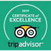 TripAdvisor Certificate of Excellence 2019   Buzzy Bee Bike, Chiang Mai, Thailand