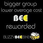 bee rewarded | Buzzy Bee Bike, Chiang Mai, Thailand